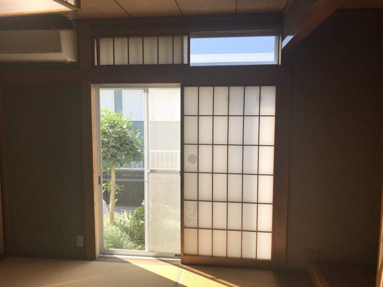 N様邸和室 内窓 ビフォー1