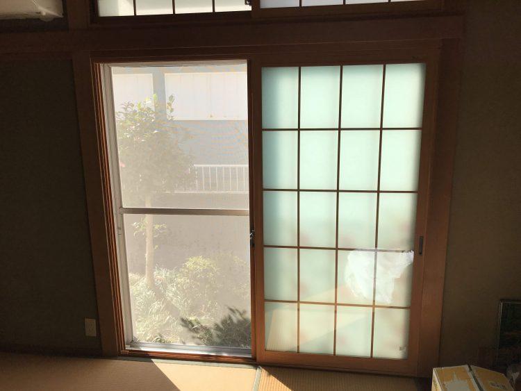 N様邸和室 内窓 アフター1