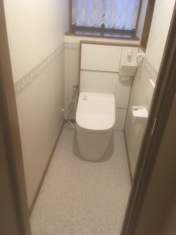 アラウーノL150 背面手洗いユニット